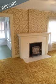 an old house fireplace gets a makeover curbly
