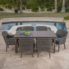 garden ridge 7pc dining collection mission hills furniture