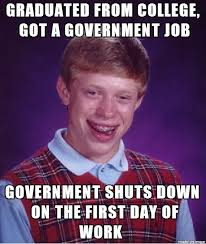 Shut Down Meme - collection of the funniest government shutdown memes 25 pics
