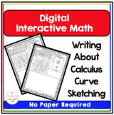 writing about math calculus curve sketching by teaching high
