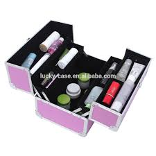 professional makeup organizer cosmetic case nail polish carrying