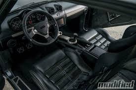 1968 Firebird Interior 1969 Pontiac Firebird Modern Masterpiece Modified Magazine