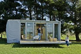 Shipping Container Garden The Port A Bach A Container Cabin Bonnifait Giesen Small