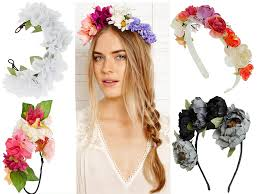 flower hairband headband floral hair trend accessories 5 trendyoutlook