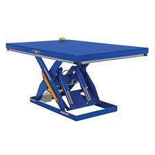 vestil ehlt 4872 4 43 electric hydraulic scissor lift table 48
