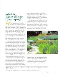 water efficient landscaping preventing pollution and using resources u2026