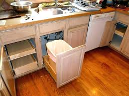 trash cans for kitchen cabinets cabinet garbage bin small kitchen trash cans kitchen cabinet garbage