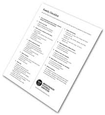 funeral planning checklist brentwood funeral services family checklist