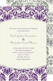 purple wedding invitations shop purple wedding invitations magnetstreet