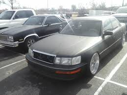 used lexus ls400 shooting the ls400 with satin black paint page 3 clublexus