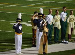 liberty marching band drum major to lead all marching band in