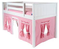 Doll House Bunk Bed Bedroom Furniture Bedroom Pink Wooden Doll House Bunk Bed With