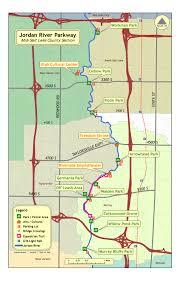 Utah Map Of Cities by Jordan River Parkway Map Salt Lake City Utah U2022 Mappery
