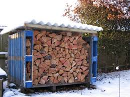 firewood storage box made from pallets pallet ideas pinterest