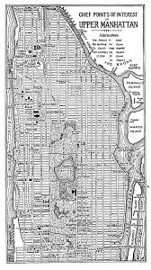 New York City Street Map by Chief Points Of Interest In Upper Manhattan