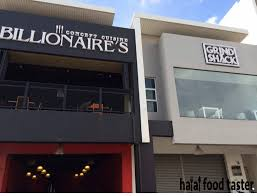 concept cuisine halal food taster billionaire s concept cuisine grind shack