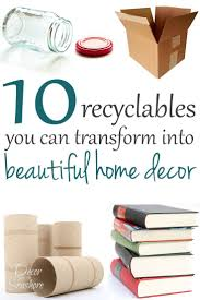 Recycled Home Decor Projects by 554 Best Diy Decoration Images On Pinterest Crafts Creativity