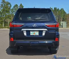 lexus lx suv review 2017 lexus lx 570 review u0026 test drive