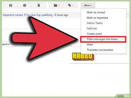 filtre de 3 ères de créer un filtre dans gmail wikihow