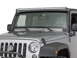 jeep jk led light bar hyline offroad 400600100 led light bar mount for 07 17 jeep