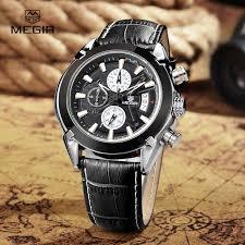 aliexpress com buy megir mens watches top brand fashion
