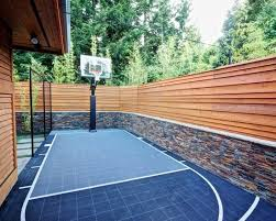 Best Home Court Images On Pinterest Backyard Basketball Court - Home basketball court design