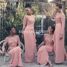 winter bridesmaid dresses shop pink sleeve winter bridesmaid dresses floor