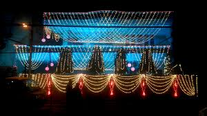 decoration for indian wedding indian wedding light decoration