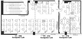 Computer Lab Floor Plan Stat Cis Lab