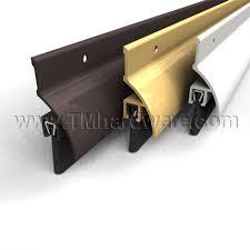 Door Bottom Sweeps For Exterior Doors Door Bottom Sweep Drip Brush This Door Bottom Seals