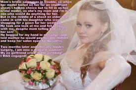 wedding dress captions to married woman by kidboykid on deviantart
