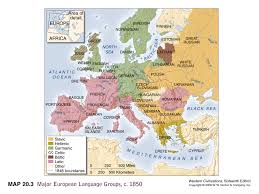 Europe Language Map by Reform Or Revolution