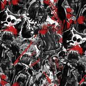walking dead wrapping paper the walking dead fabric wallpaper gift wrap spoonflower