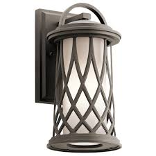kichler outdoor wall lighting browse our classy home lighting fixtures in kankakee
