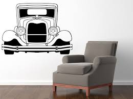 wall decals stickers home decor home furniture diy hot rod muscule car 580x800mm vinyl wall sticker decal