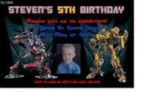 boys themed birthday invitations birthday party invitations