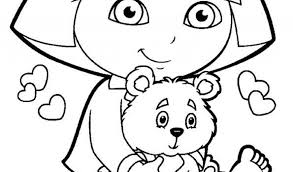 free printable dora diego coloring pagesfree coloring pages