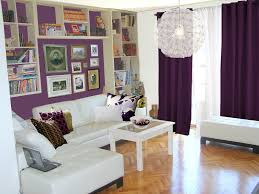 purple and silver living room ideas metal arc floor lamp round