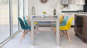 6 seater dining table and chairs eames chairs and grey gloss 6 seater dining set danetti uk