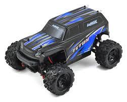 monster jam toy trucks latrax teton 1 18 4wd rtr monster truck blue by traxxas