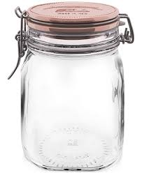 Macys Home Decor Bormioli Rocco Metallic Fido Storage Jar Home Decor For The
