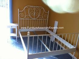ikea leirvik bed frames assembly service in washington dc flickr