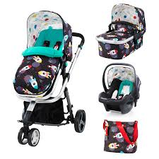 Cosatto giggle 2 travel system free hold 0 car seat space