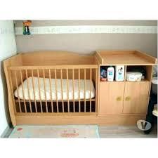 chambre enfant confo lit de bebe evolutif lit bebe transformable en banquette lit bebe