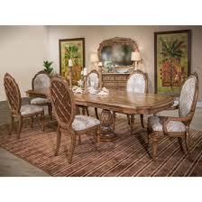 michael amini excursions rectangular dining table set
