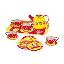 jeux de cuisine service service a thé métal la grande récré vente de jouets et jeux