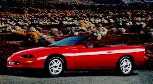 1995 camaro z28 convertible 1995 chevrolet camaro review