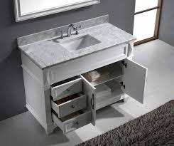 Bathroom Vanity Tops 42 Inches Bathrooms Design Ms Wmsq Wh Bathroom Vanity With Top Virtu Usa