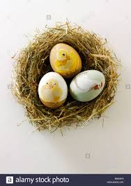 Decorating Easter Eggs Tradition by Traditional Decorated Easter Eggs Stock Photo Royalty Free Image