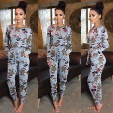 plus size pyjama sets for women ebay